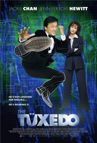 TUXEDO Original Movie Poster 27x40 - DS - Jackie Chan - Jennifer Love Hewitt - Jason Isaacs - Debi Mazar (Tuxedo Jackie Chan)