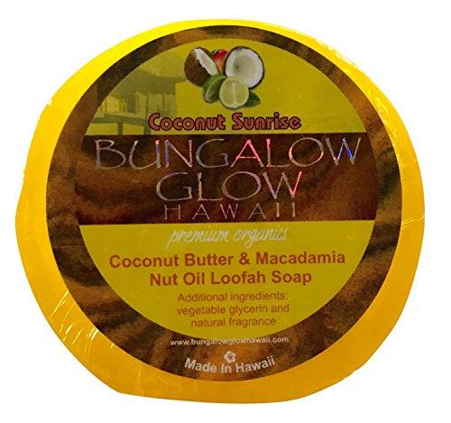 Bubble Shack Hawaii Bungalow Glow Coco Loofah Soap (Coconut