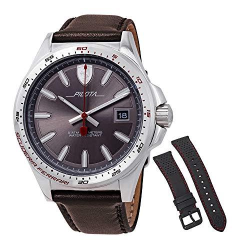 Ferrari Pilota Grey Dial Men's Watch 0830488