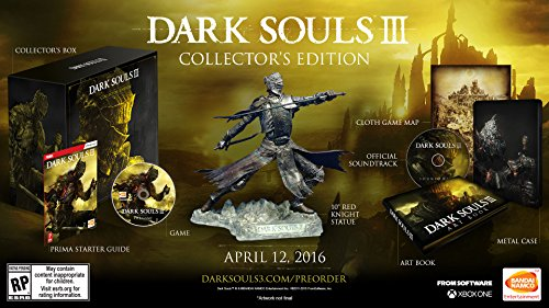 Dark Souls III: Collectors Edition - Xbox One (Dark Souls 3 Day One Edition Includes)