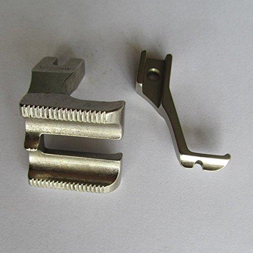 Double Welt Foot Set for Consew 205RB / Juki DU-141 DU-1181 /Yamata FY-5318/ Highlead GC0318 Walking Foot Machine #U192W+U193KW (1/4