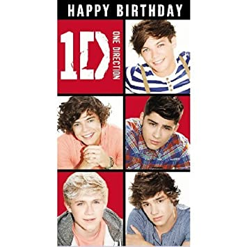 Amazon One Direction Happy Birthday Card Od014 By Heroes For