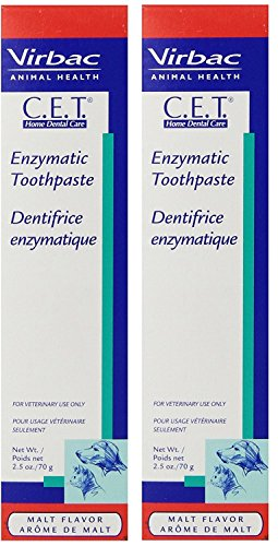 Toothpaste Dog Cet (CET Malt Toothpaste, 70 gm (2 Pack))