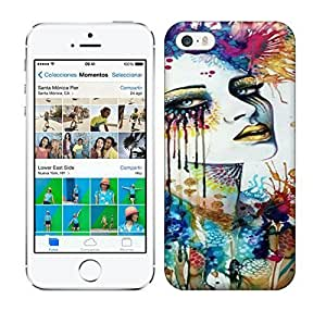 Best Power(Tm) HD Colorful Painted Watercolor German Artist Svenja Jodicke Combines Splashy Watercolor And Feminine Sensuality In This Creative Painting X Hard For Ipod Touch 4 Phone Case Cover