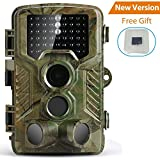 PengRH Trail Game Camera, Wildlife Hunting Camera Hunting Game Camera1080P 120°PIR Sensor 2.4 LCD Scouting Camera, 0.2s Trigger Time, IP56 Waterproof, 16GB Memory Card