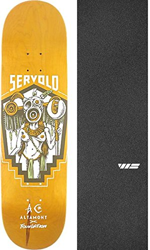 Foundation Skateboards Dakota Servold X Altamont Ritualスケートボードデッキ – 8.5