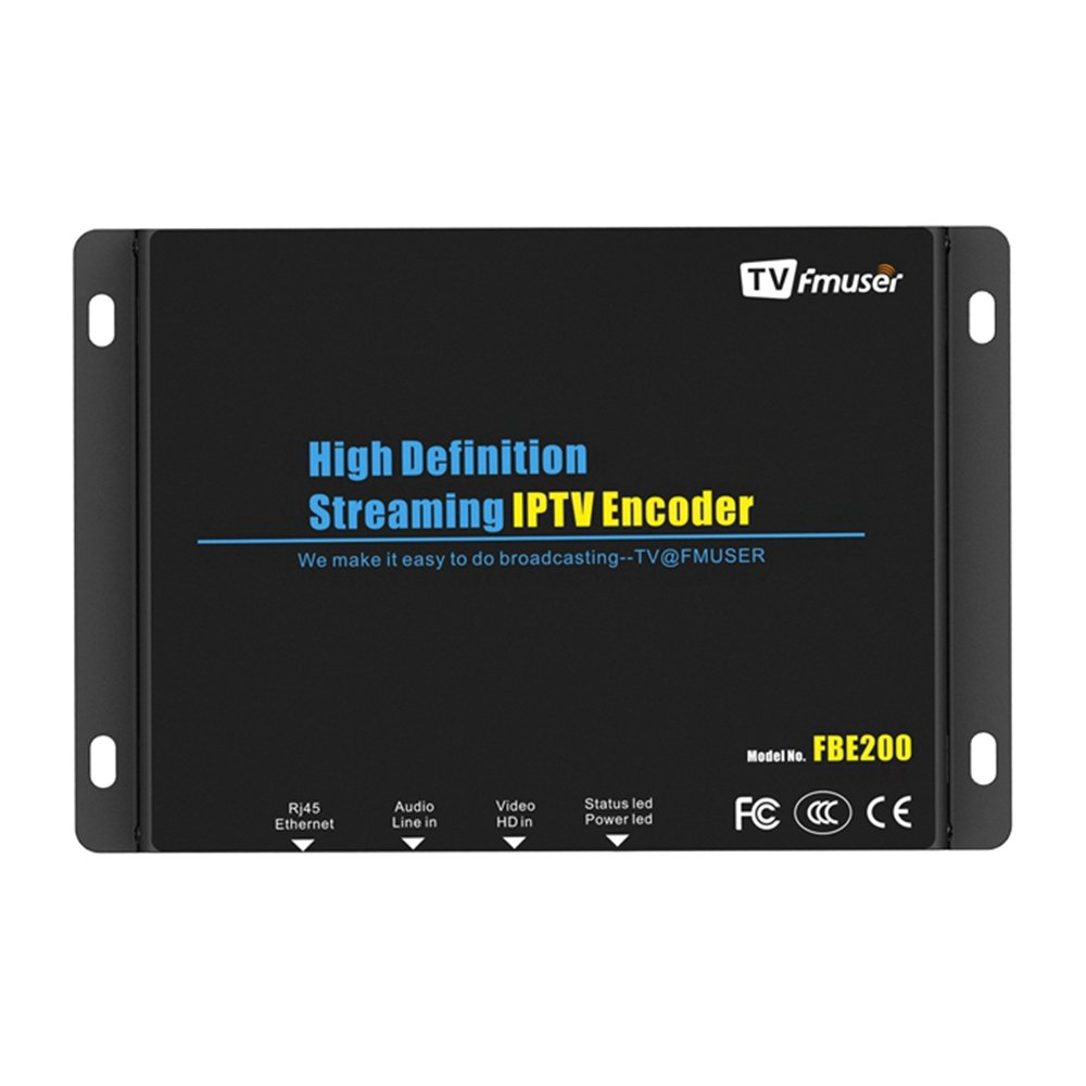 FMUSER H.264 Live HDMI Video Encoder, Full 1080p RTMP IPTV Encoder, Live Stream Broadcast on Facebook Youtube Ustream Wowza Streaming Platforms by fmuser (Image #1)