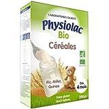Physiolac Bio Céréales Dès 4 mois 200g