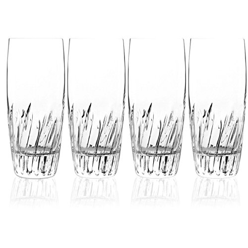 Collection Beverage Luigis (Luigi Bormioli Incanto Beverage Glass, 14.75-Ounce, Set of 4)