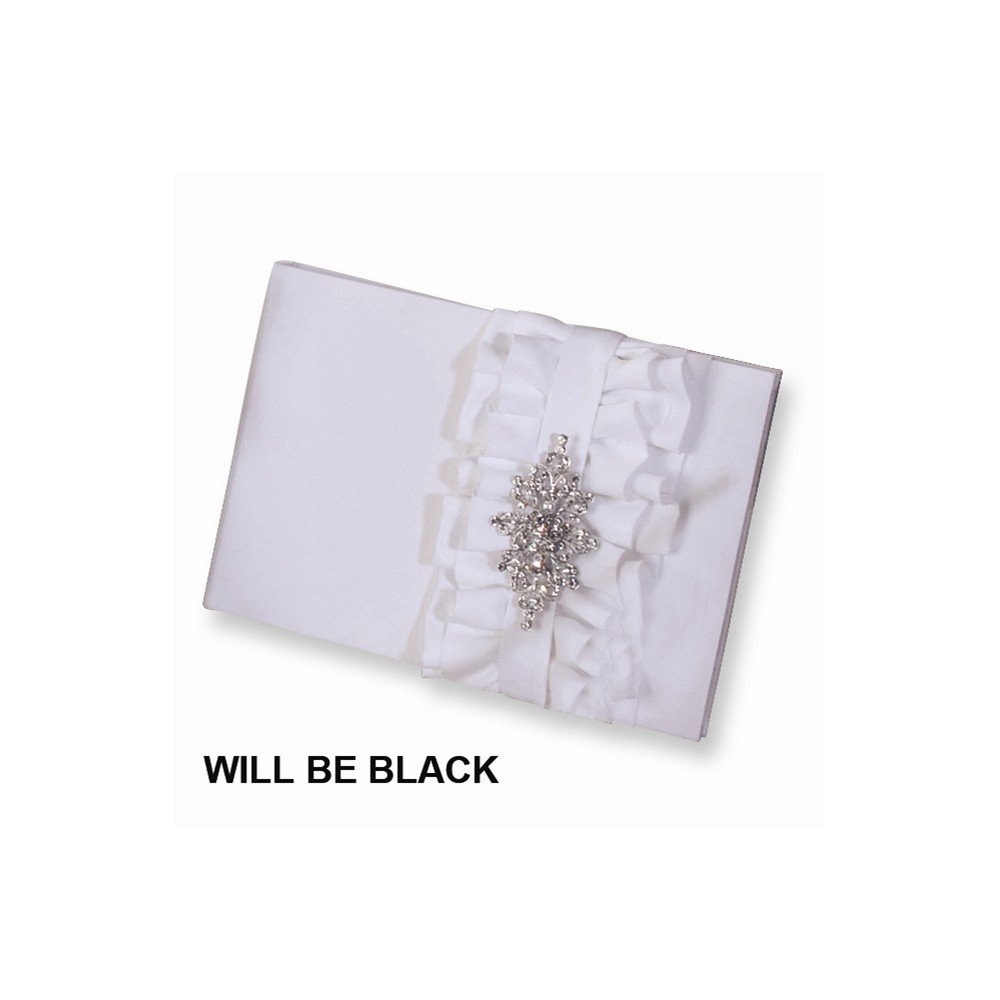 Black Isabella Guest (holds 600 signatures) Book