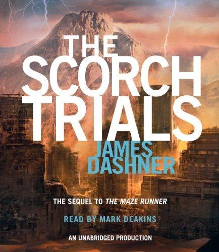 The Scorch Trials (Maze Runner Series #2) by Dashner James (2010-10-26) Audio CD