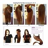 "SARLA 22"" Halo Hair Extension Wire Sercet Crown"