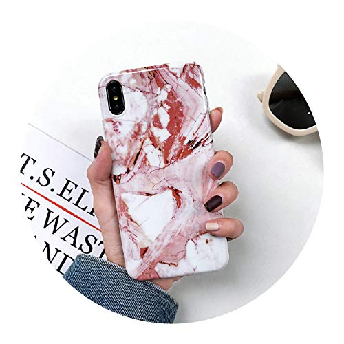 Marble Case on for iPhone 7 XS MAX Case Soft TPU Back Cover for iPhone 6 6S 7 8 Plus iPhone X XR Case Cover Phone Case,10,iPhone X