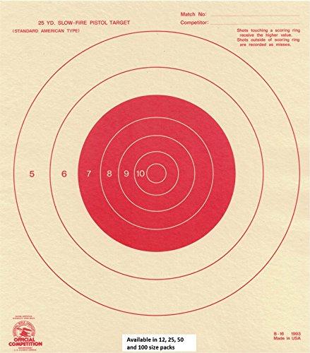 25 yard targets - 7