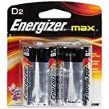 EVEE95BP2 - Energizer D Alkaline General Purpose Battery