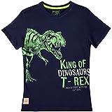 OFFCORSS Trendy Stylish Short Sleeve Tshirt for Kids Camisetas De Niños Blue  6 c505d869ef7f0