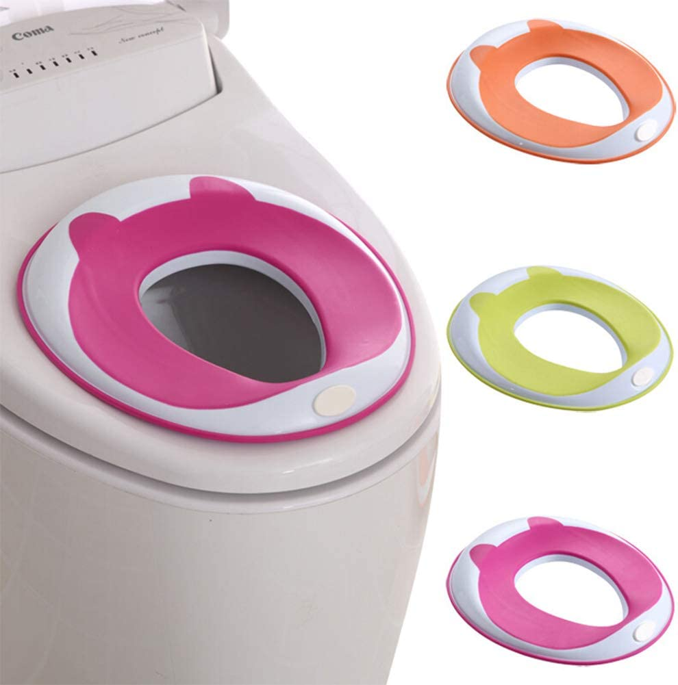 Safe Kids Pot r/éducteur de toilettes portable avec coussin antid/érapant
