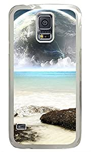 Samsung Galaxy S5 Earth And Sea Water PC Custom Samsung Galaxy S5 Case Cover Transparent