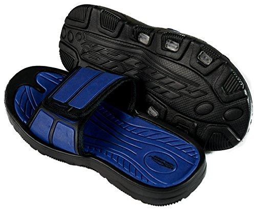 Slr Merken Heren Slides Slip Op Sandaal Slipper Comfortabele Douche Strandschoen Flip Flop Marine