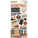 Simple Stories Basketball 6x12 Sticker Sheet