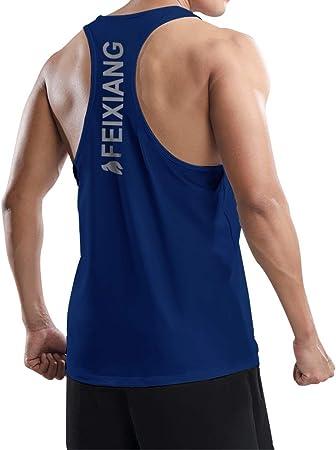 Herren Kompressions Shirt /Ärmellos Funktionsshirts Schnell Trocknend Tank Top Unterhemd Fitness