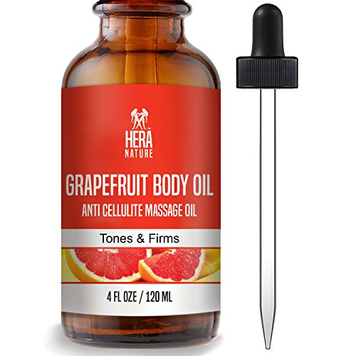 BEST GRAPEFRUIT BODY ESSENTIAL OIL - 100% Natural - Improves Skin Firmness, 120ml (4oz)