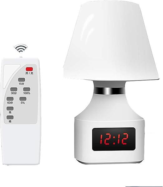 ANyusheng - Lámpara LED de Mesa con Mando a Distancia, lámpara de ...