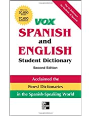 Vox Spanish and English Student Dictionary, 2nd Edition