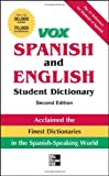 img - for Vox Spanish and English Student Dictionary PB, 2nd Edition (Vox Dictionaries) book / textbook / text book