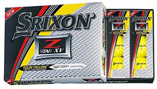 Srixon Z-Star XV 2017 Golf Balls (One Dozen)