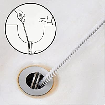 Alink Sink Drain Overflow Cleaning Brush, Household Sewer Hair Catcher