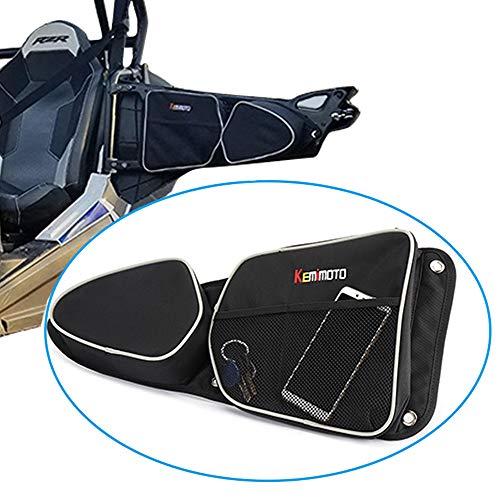 KEMIMOTO RZR Door Bags, RZR 1000 S900 Storage Bags with Knee Pad for 2014-2018 Polaris RZR XP 1000 900XC Front Door Driver and Passenger Side Storage Bag Set