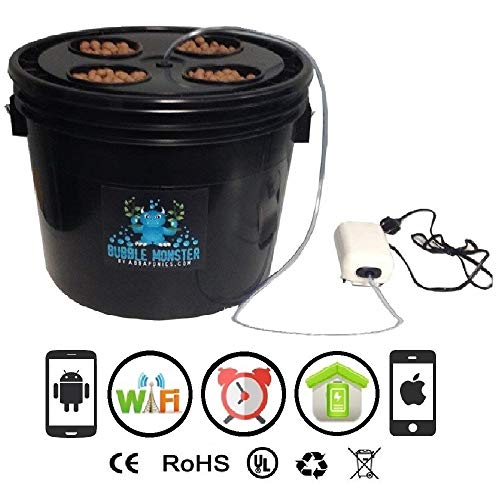 Cultivation Rx Smart 4-Site Full Cycle WiFi Accessible Hydroponic Grow Kit System (2019)