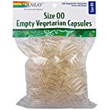 Cheap Solaray Empty Vegetarian Capsules, Size 00, 500 Count