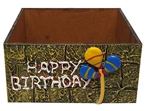 Saugat Traders Birthday Gift for Girlfriend or Wife - Happy Birthday Teddy with Birthday Match Box & Handmade Birthday Box with 2 Dairy Milk Chocolates