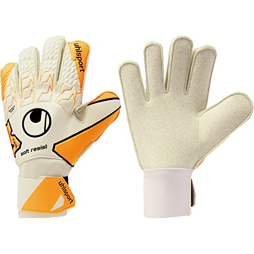 Mens UHLSPORT SOFT RESIST ASTRO HARD GROUND 3G 4G HARD WEARING Goalkeeper Gloves For - Ground Glove Soft