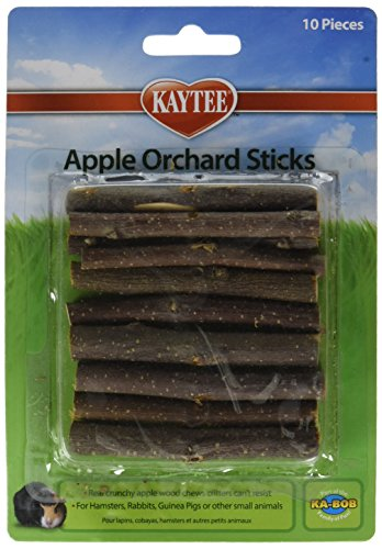 KAYTEE Apple Orchard Sticks – (5 Packages with 10 per Package)