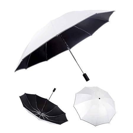 Paraguas invertido de doble capa: al revés Paraguas ...