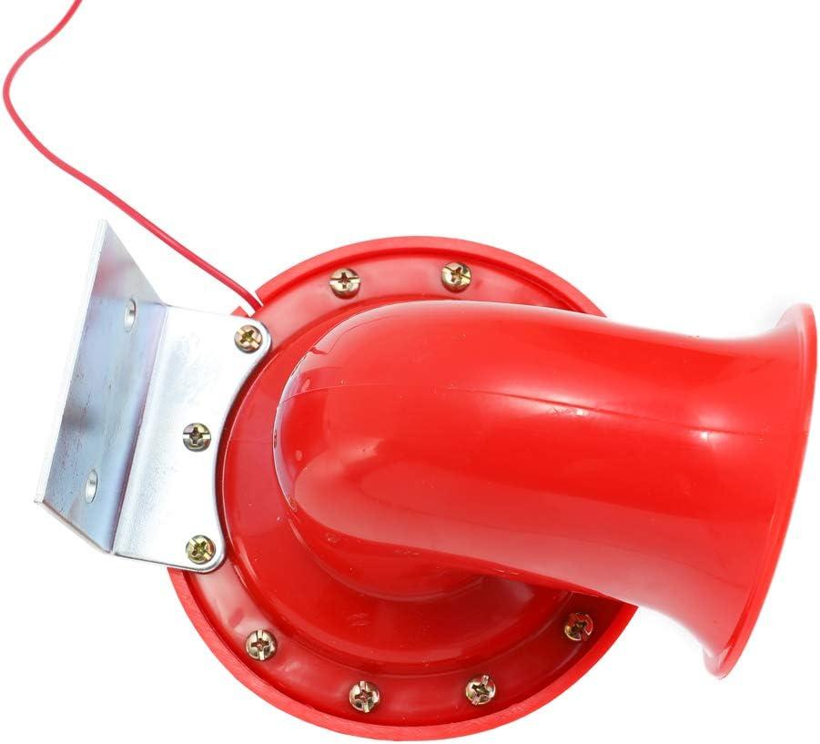 Tickas Laut 200db 12 V Rot Elektrische Bull Horn Air Horn Raging Sound Für Auto Motorrad Lkw Boot Auto