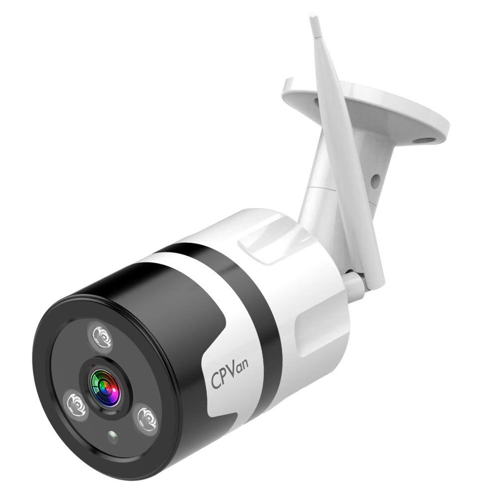 CPVAN Outdoor Security Camera 1080P WiFi Camera with 2 Way Audio Waterproof IP66 Security Camera Wireless, Night Vision Camera Surveillance Cameras Outdoor, Cloud Storage by CPVAN
