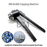DM Manual Vial Crimper 20MM Crimper Medical Bottle Cap Crimping Tool Antibiotics Bottle Capper Machine Hand Held Capping Machine
