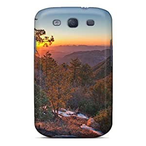 Mbsky Case Cover For Galaxy S3 - Retailer Packaging Amazing Lscape At Sunset Protective Case