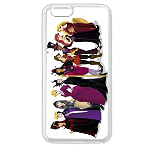 The Little Mermaid Disney White Case/Cover for For Iphone 6 Cover