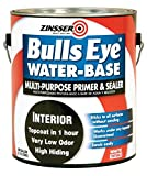 zinser sealer - Rust-Oleum 2241 White Zinsser Bulls Eye Primer Sealer, 1 gal Can (Pack of 4)
