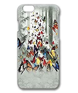 Butterflies Custom Protective 3D Case for iphone 5 5s -1220426