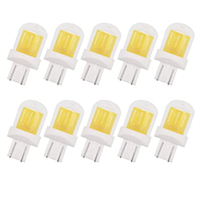 GRV T10 921 192 194 COB 1511 SMD LED Lights Bulbs 2.8W AC/DC 12-14V Glass Ceramic LED for RV Dome Interior Car Lights Cool White Pack of 10: Home Improvement