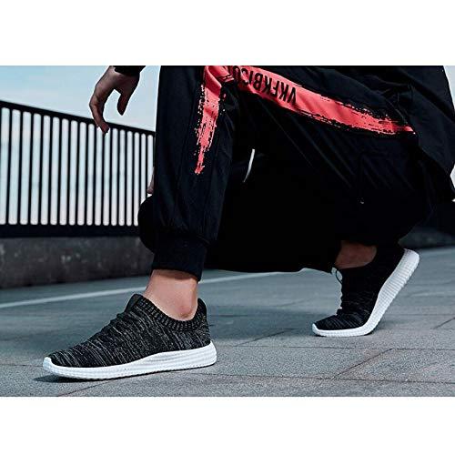 Leggere Black Sneakers Maglia Athletic Fitness Uomo Sports For Ginnastica Da Per Casual Sportive Scarpe Maglieria nqrICqUg