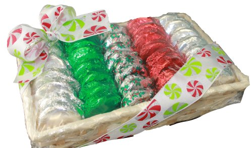 Dark Chocolate Covered Oreo Cookie Christmas Holiday Gift Basket