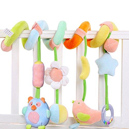 SKK Baby Infant Crib Toy Stroller Activity Spiral and Travel