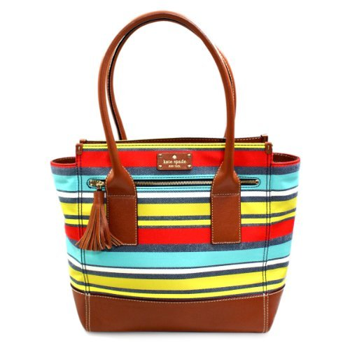 Kate Spade Linda Key West Multi-color Tote Bag (Multi color) #WKRU1876